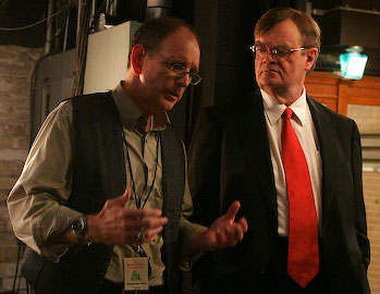 Tim Russell and Garrison Keillor